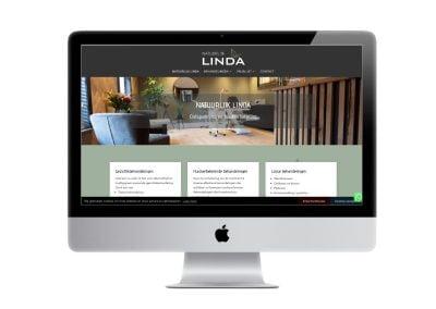 Schoonheidssalon Natuurlijk Linda webdesign