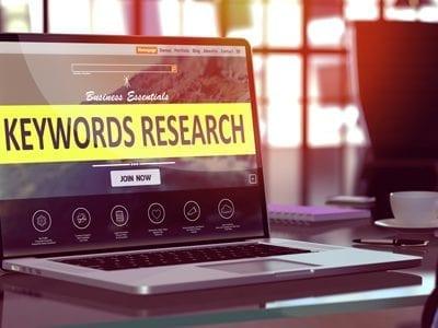 Zoekwoorden Google onderzoek analyse